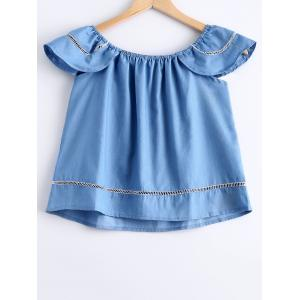 Casual ScoopNeck Short Sleeves Top For Women -