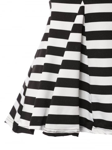 Store Stylish Sweetheart Neckline Striped T-Shirt For Women - ONE SIZE(FIT SIZE XS TO M) STRIPE Mobile