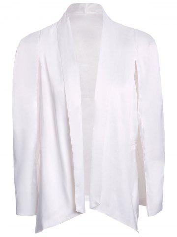 Store Stylish Shawl Collar Long Sleeve Furcal Women's Blazer