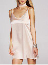 Mini Slip Satin Vestido Dress