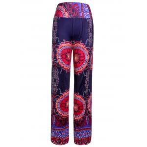 Ethnic Style Elastic Waist Floral Print Exumas Pants For Women -