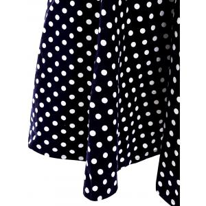 Sweet Sweetheart Neck Polka Dot Print Sleeveless Dress For Women -