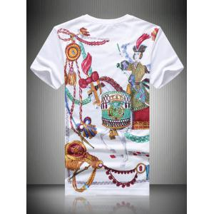 Casual Horse Printed T-Shirt For Men -