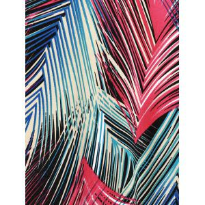 Chic Colorful Pine Needle Print Long Skirt For Women -