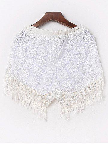 Hot Sexy Fringed Flowy Lace Shorts