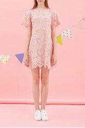 Lace Zippered Dress -
