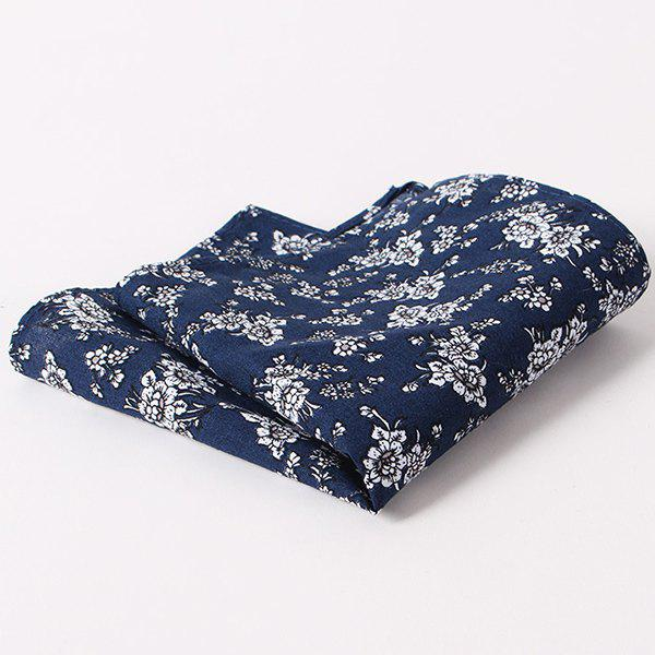 Buy Stylish Tiny Floral Pattern Wedding or Party Business Suit Pocket Square For Men