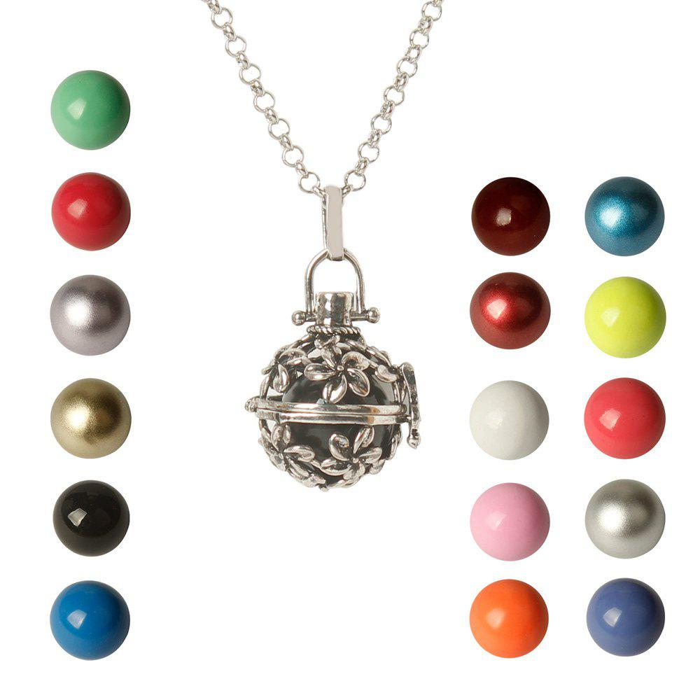 One Piece Mexican Bola Cage Cellule Harmony Floral Ange appelant son collier de Bell
