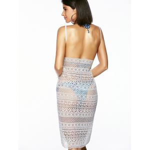 Гипюр Backless Ажурные Cover-Up - Белый От XS to M