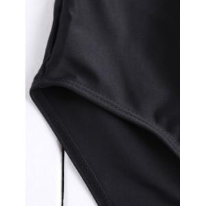 Simple High-Waisted Solid Color Women's Swimming Shorts -