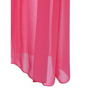 Simple U Neck Sleeveless Pure Color Women's Maxi Dress -