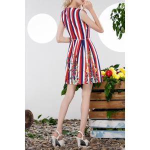 Sequined Striped Sundress -