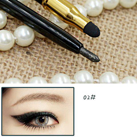 Unique Stylish 15 Colours Double-End Brighten Lip Liner Highlight Silkworm Pencil Eyeliner pencil