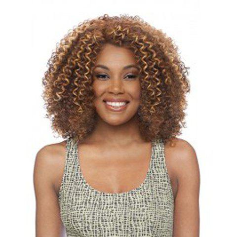 Unique Stylish Synthetic Kinky Curly Wig For Women
