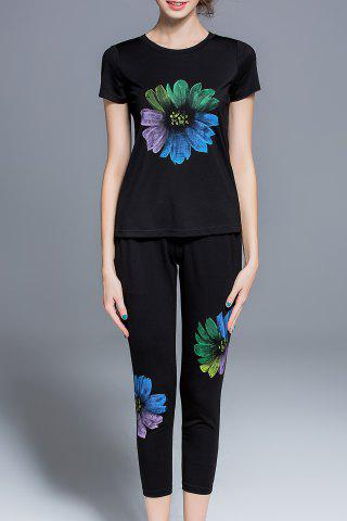 Shop Floral Print Top and Pants Twinset