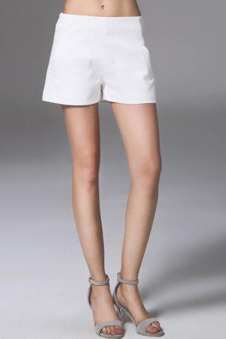 Outfits High Waist White Shorts