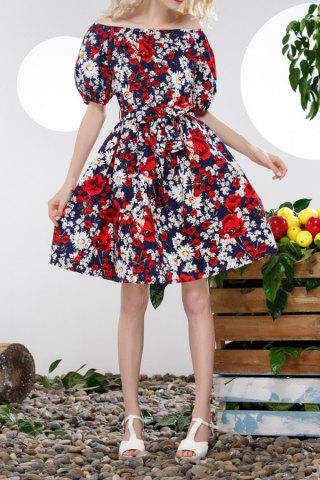 Best Off The Shoulder Floral Dress