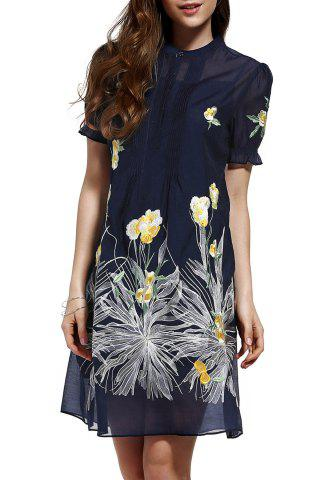 Cheap Cami Dress and Floral Print Loose Dress Twinset