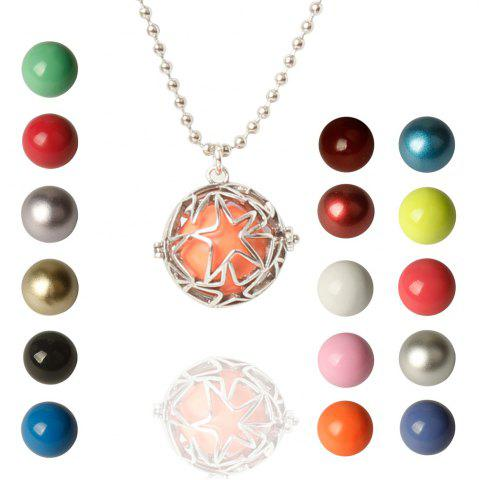 Shop Vintage Retro Star Bead Necklace