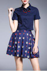 Top and Puffball Skirt -