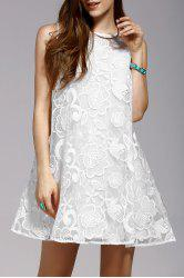 Cami Dress and Embroidery Sleeveless Dress Twinset -