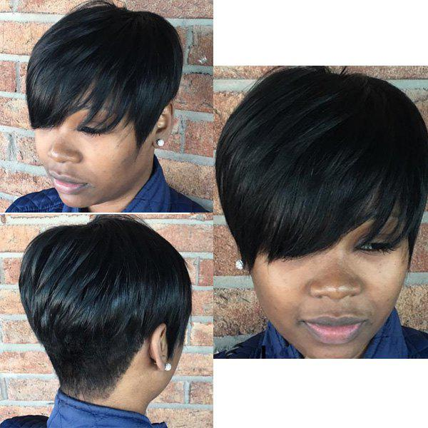 Online Synthetic Fluffy Short Layered Cut Wigs For Women ebbc5caf2