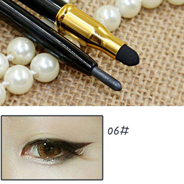 New Stylish 15 Colours Double-End Brighten Lip Liner Highlight Silkworm Pencil Eyeliner pencil