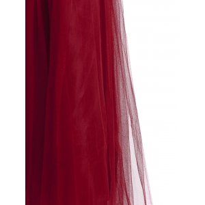Stylish Solid Color High-Waisted Floor-Length Skirt For Women -