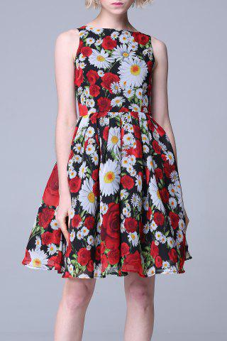 Affordable Daisy Print Sundress