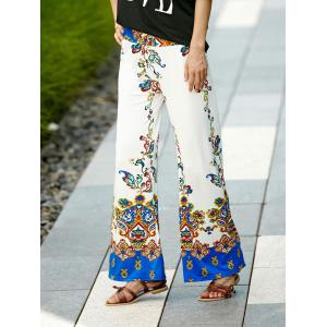 Palazzo Ethnic Floral Pants -