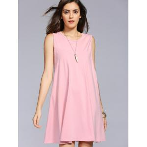 Cut Out Swing Casual Shift Dress