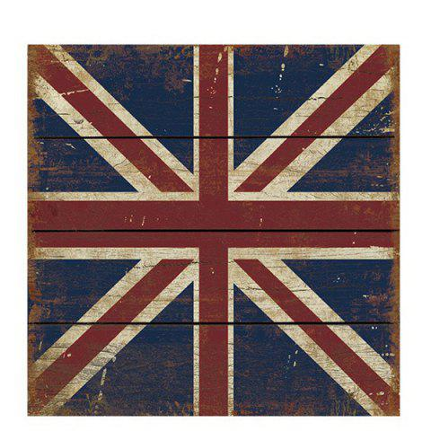 Cheap High Quality Union Flag Pattern 30*30CM Square Wood Painting
