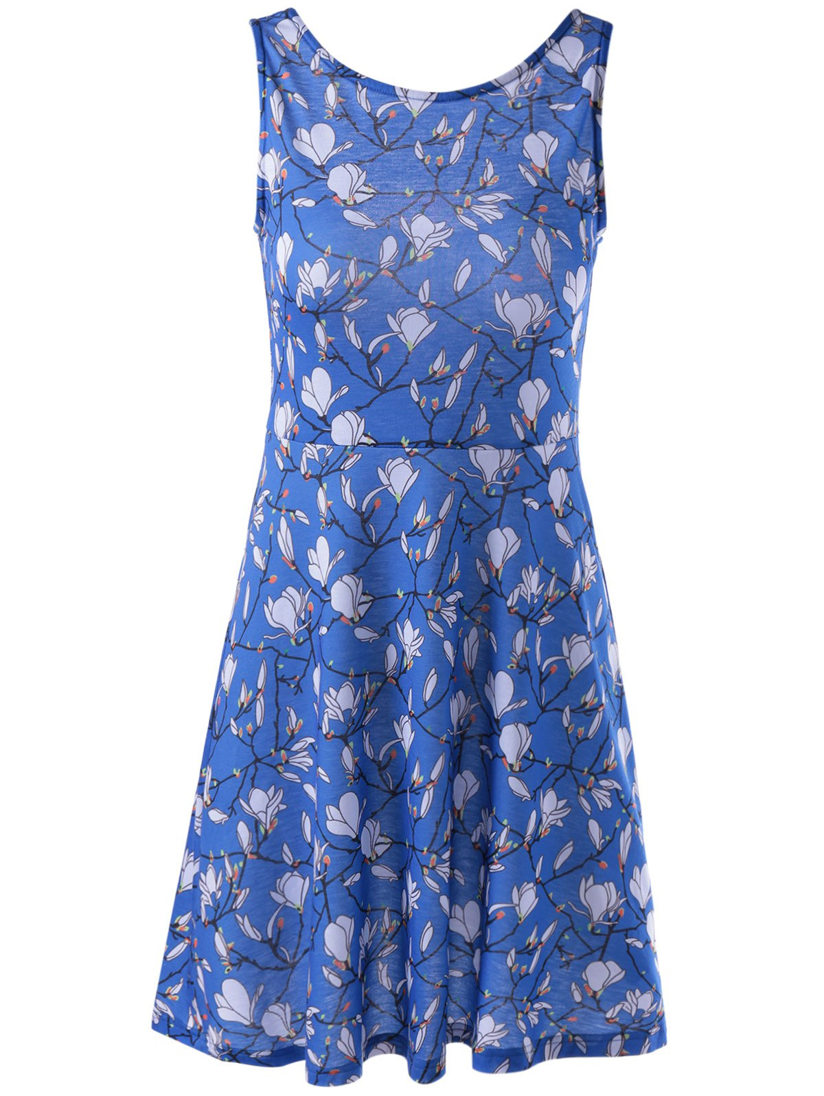 New Fashionable Printing Vest Dress For Women