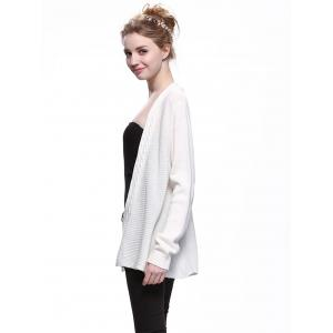 Trendy Solid Color Long Sleeve Knitwear -