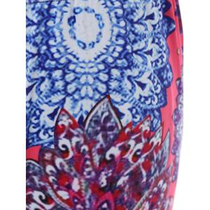 Stylish Mid-Waisted Printed Wide Leg Women's Exumas Pants - COLORMIX L