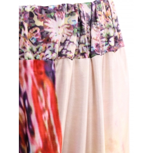 Mid-Waisted African Print Maxi Skirt - JACINTH ONE SIZE(FIT SIZE XS TO M)