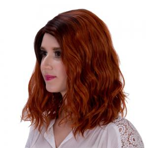 Adiors Side Parting Colormix Fluffy Curly Synthetic Short Wig