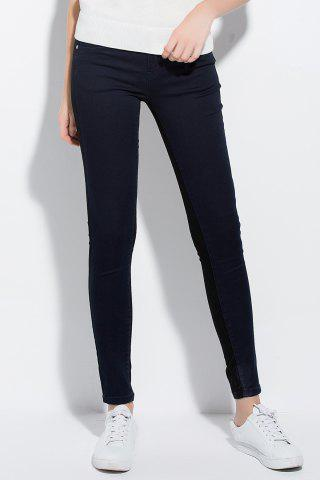 Shops Spliced Sheath Jeans