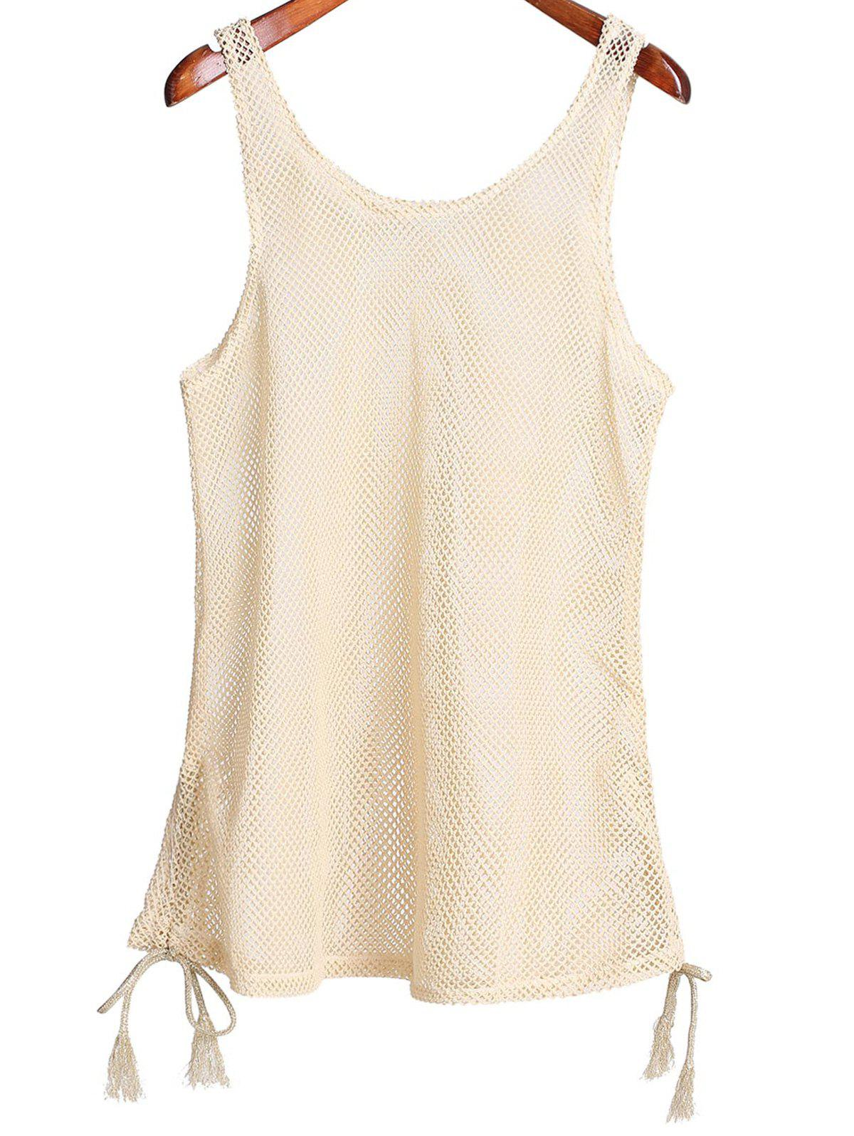 Scoop Col Cut Out Women 's  Cover Up