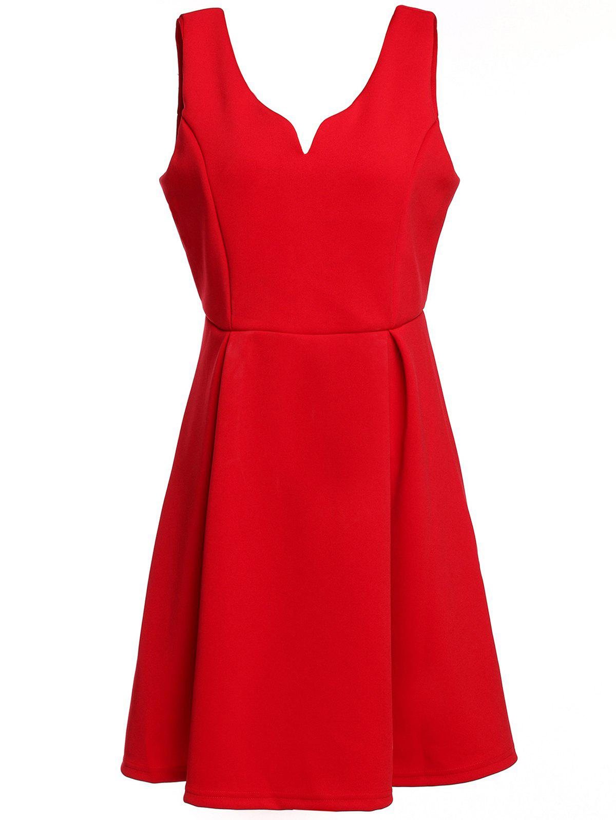 Latest Retro Sleeveless Semi Formal Dress
