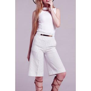 High Waist Striped Pirate Pants -