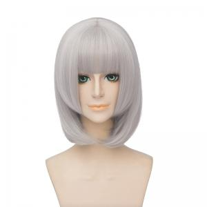 Fashion Synthetic Straight Layered Cosplay Wig -