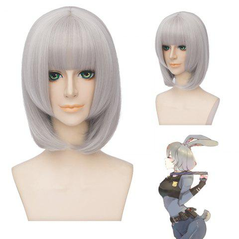 Unique Fashion Synthetic Straight Layered Cosplay Wig