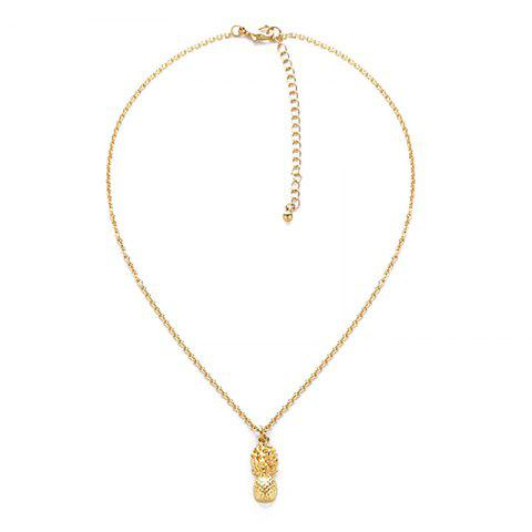 Store Pineapple Alloy Pendant Necklace