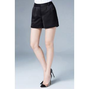 Zipper Fly Smart Shorts -