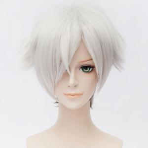 Chic Synthetic Death Billiards Cosplay Ombre Short Wig -