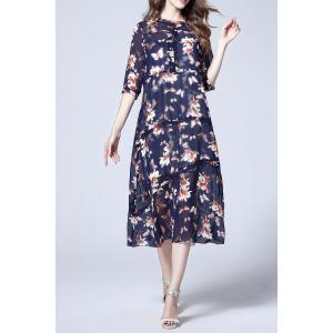 Cami Dress and Chiffon Floral Print Dress -