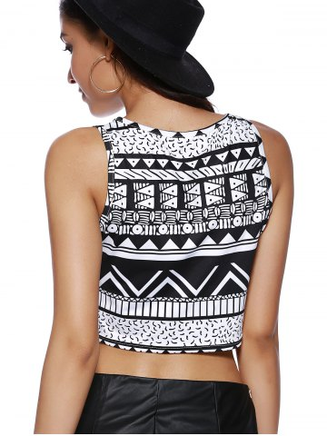 Online Chic Women's Tribal Print Tank Top - XL COLORMIX Mobile