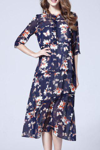 Outfits Cami Dress and Chiffon Floral Print Dress