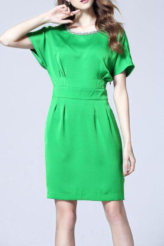 Outfit OL Style Pure Color Dress
